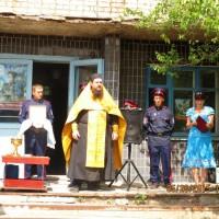 Открытие военно-патриотического клуба «Казачата»