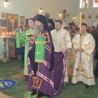 День Святой Троицы в мужском монастыре