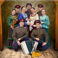 Казачий коллектив на фестивале «Русское поле»