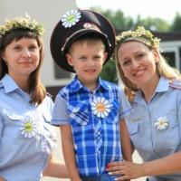 Полицейские поздравили волгоградцев