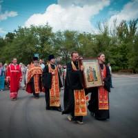Крестный ход, посвящённый памяти царской семьи
