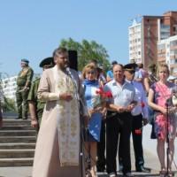 Митинг и лития в день 85-летия ВДВ