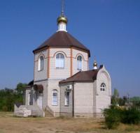 Освящение храма в с. Старая Полтавка