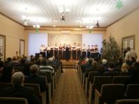 Выступление хора на Рождественских встречах