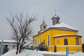 Божественная литургия в Краснослободске