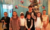 Рождественская ёлка в школе ст. Кременской