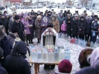 Праздник Богоявления в Урюпинской епархии