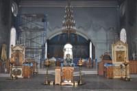 Реконструкция храма продолжается