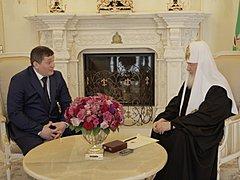 Патриарх Кирилл благословил строительство собора