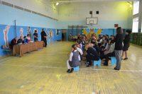 Встреча настоятеля храма со школьниками
