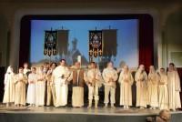 В Волгограде прошёл спектакль «Русский Крест»
