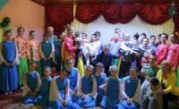 Пасхальный праздник в детском доме инвалидов