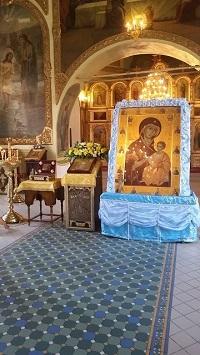 Святыня в Никольском кафедральном соборе