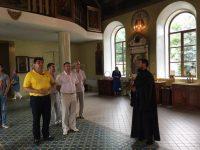 Визит депутата в Никольский собор