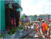 Экскурсия детей в храм