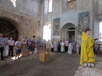 Богослужение в ст. Тепикинской
