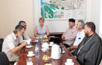 Встреча в Волжской городской Думе