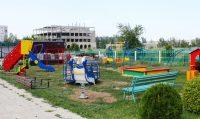 Детская игровая площадка при храме