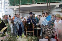 Праздник Успения Пресвятой Богородицы в храме