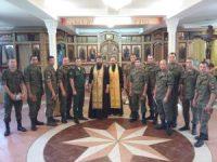 Волжские священники благословили военных