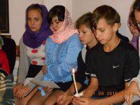 Православный семейный вечер при свечах