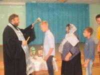 Молебен в Волжском детском доме