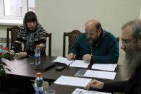 Заседание редколлегии в епархиальном управлении