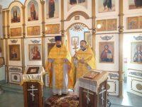 Престол в храме при ЛИУ-15