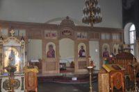 Обновление алтаря и иконостаса храма