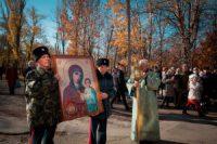 Крестный ход в день Казанской Божьей Матери