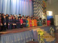 Посвящение учеников в казачата