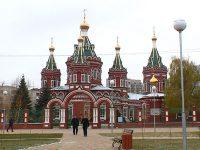 Сквер у Казанского собора