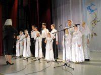 Участие в вокально-хоровом конкурсе