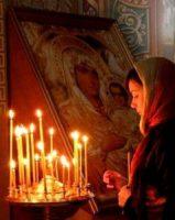 Молебен в женской консультации