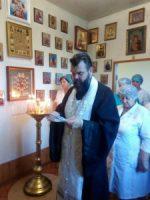 Молебен в перинатальном центре