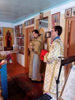 Божественная Литургия в храме с. Большое Судачье