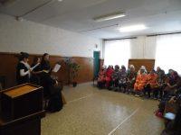 Концерт в онкологическом диспансере