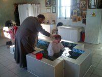 Благотворительное Крещение в храме
