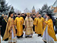 Визит в мужской монастырь