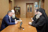 Встреча губернатора с Архиерейским советом
