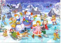 Волжане увидели Рождественскую сказку