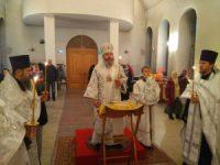 Богослужение в Соборном храме
