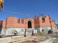 Первый год строительства собора