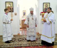 Поздравление братии монастыря