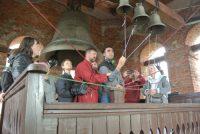 Выступление на фестивале колокольного звона