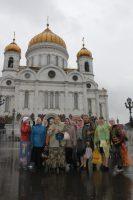 Паломники вернулись из Москвы