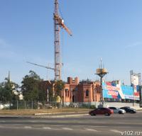 Расширение границ строящегося собора