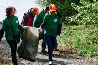 Акция по уборке мусора