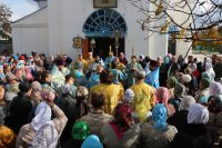 Престольный праздник кафедрального собора