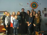 Встреча с воспитанниками Дворца творчества